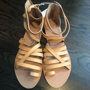 Mossimo strappy sandals women's 8 new